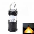 Къмпинг лампа соларна с USB за зареждане на телефони или друго с