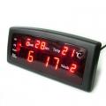 Настолен дигитален цифров часовник CAIXING CX-868 със светещи ци