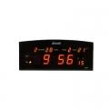 Настолен дигитален цифров часовник JINNIU N1024-3 показва часа,
