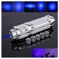 Виолетово син лазер с защитни очила много голяма мощност 5000mW