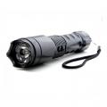 Силен електрошок 1201 със силен фенер CREE XR-E Q3 и шип за стък