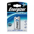 Литиева батерия Energizer Ultimate 9V 6LR61
