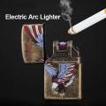 Запалка с единична електрическа волтова дъга, включване чрез бут