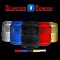 Портативни Bluetooth колона с TF карта, USB, AUX, FM радио и сил