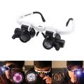 Лупи очила 9892H-1 с два вида увеличение 8X и 23X и 2 броя освет