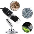 Микроскоп с 8-LED осветяване 20X-800X 2MP Digital и USB