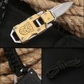 Мини лек и компактен нож JL-10B от 420 неръждаема стомана и издр