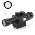 Прицел бързомерец за оръжие M6 LS4X25 с 5mw червен лазер, два цв