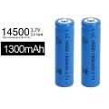 Акумулаторнa литиевойонна батерия LC 14500 1300mAh 3.7V Li-ion