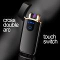 Луксозна запалка LIGHTER Touch Screen с електрическа волтова дъг