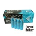 Усилена карбонова батерия Knack Carbon Battery AA, R6 1.5V 4 бро