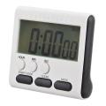 Дигитален кухненски таймер с часовник и секундомер WM102