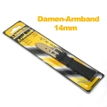 Кожена каишка за часовници 14мм Damen-Armband