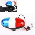 Електронна сирена за велосипед с полицейски светлини CH-202