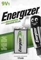 Акумулаторна батерияEnergizer Power Plus 6LR61 9 V 175 mAh NiMH