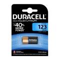 Литиева батерия DURACELL 123 HIGH POWER LITHIUM + 40% MORE POWER