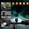 Акумулаторен соларен фенер за колело със сирена и опция Power ba