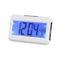Настолни електронни часовници с термометър, календар, будилник и гласов контрол