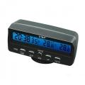 VST-7045 часовник с термометър за вътрешна и външна температура,