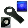 Лупа с UV светлина, COB LED осветление, диаметър 33мм и 4X