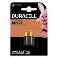 Батерия DURACELL 23А, MN21, 23 12V 2 броя батерии