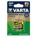 Акумулаторни батерии VARTA Endless AAA 950 mAh 1.2 V NiMH Акумул