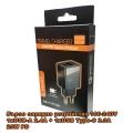 Зарядно устройство VS Mobile 20W PD Quick Charger 2.4A, 3.0A USB