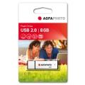 AGFA PHOTO USB Флаш памет USB 2.0 8GB Скорост четене-запис MB/s