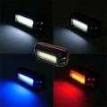 COB Полицейски светлини за велосипед с различни режими на светен