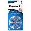 Батерии за слухови апарати Panasonic PR675, 675, ZA675 DA675, PR