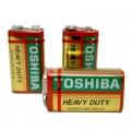Батерия TOSHIBA HEAVY DUTY 9V, 6LR61, 6F22, 6LF22
