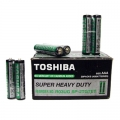 Усилена батерия TOSHIBA SUPER HEAVY DUTY R03 AАА 1,5V
