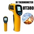 Tермометър UT380 за гореща вода, горещи части на двигателя, повъ