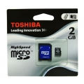 Toshiba Micro SD 2GB