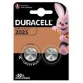 Батерии Duracell CR2025, DL2025 + 50% EXTRA LIFE 3V 2 броя в бли