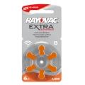 Батерия Rayovac Extra Advanced 13, PR48, PR13, ZA13, DA13, 13A,