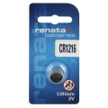 Батерия RENATA CR1216, DL1216, BR1216, 1216 3V Lithium