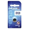 Батерия RENATA CR1220, DL1220, BR1220, 1220 3V Lithium