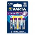 Батерия Varta Professional Lithium AAA, LR03 1.5V 4 броя батерии