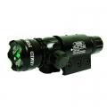Зелен лазерен прицел 20 MW с батерия CR123 и две шини за закрепв