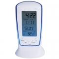 Настолен дигитален светещ часовник с термометър, дата и аларма C