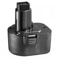 Батерия за безжична бормашина Black & Decker 12V 1500mAh A9252
