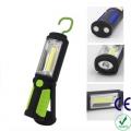 Фенер за къмпинг или работа с кука и магнит  1W + 3W COB