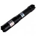 Мощен виолетово-син акумулаторен лазер 5000mW с 5 приставки пука