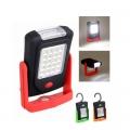 Компактна лампа фенер с 20SMD + 3LED + кука и магнит