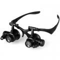 Очила лупа с увеличение  10X / 15X / 20X / 25X LED осветление 98