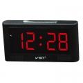 Настолен часовник VST-732 с аларма и червени светодиодни на 220V