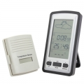 Термометър Метеостанция с датчик за външна температура и прогноз