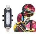 Бели светлини за колело RAPID X Акумулаторни LED светлини