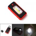Фенер лампа с 3W COB LED, магнит и карабинер за закачане